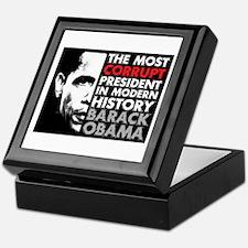 Most Corrupt President Keepsake Box