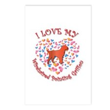 Love Griffon Postcards (Package of 8)