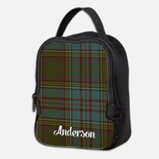 Anderson Tartan Neoprene Lunch Bag