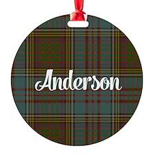 Anderson Tartan Ornament