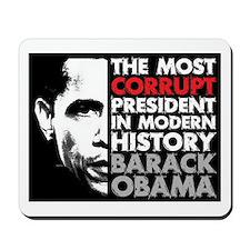 Most Corrupt President Mousepad