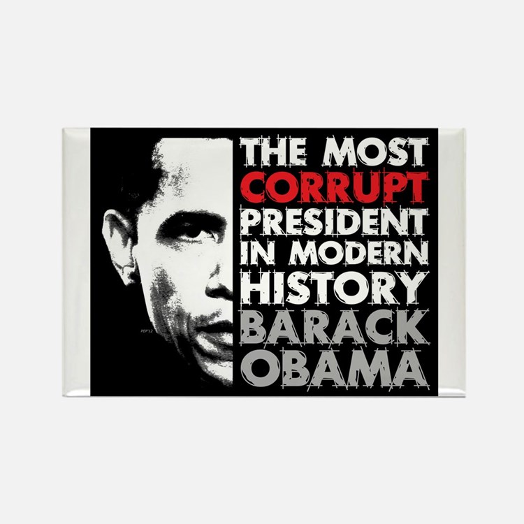 Most Corrupt President Magnets