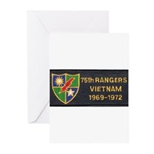 75th Rangers Greeting Cards (Pk of 10)