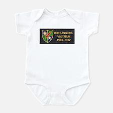 75th Rangers Infant Bodysuit
