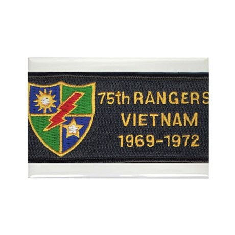 75th Rangers Rectangle Magnet (10 pack)