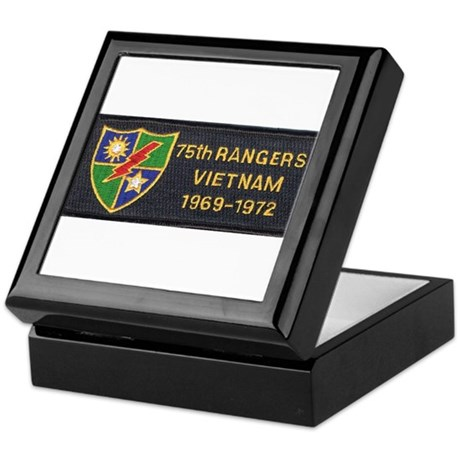 75th Rangers Keepsake Box