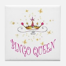 BINGO QUEEN Tile Coaster