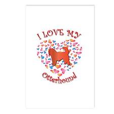 Love Otterhound Postcards (Package of 8)