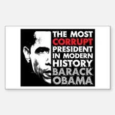 Most Corrupt President Decal