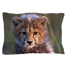 Cheetah cub Pillow Case