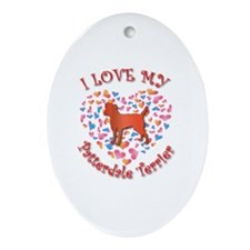 Love Patterdale Oval Ornament