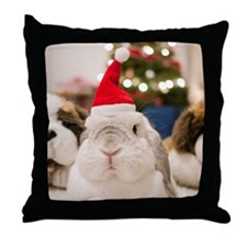 Chinese bunny rabbit Throw Pillow