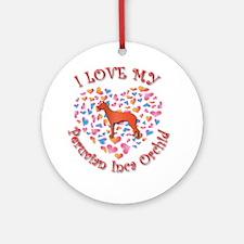Love PIO Ornament (Round)