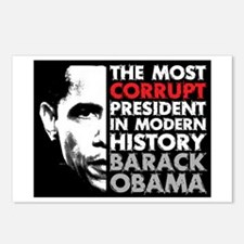 Most Corrupt President Postcards (Package of 8)