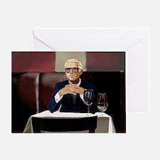 Sunday Night Dinner Date Greeting Card