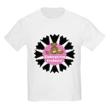 Pink Kindergarten Graduate Kids T-Shirt