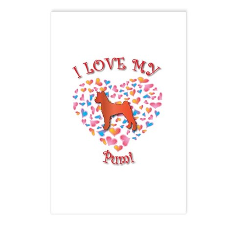Love Pumi Postcards (Package of 8)