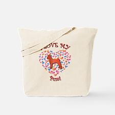 Love Pumi Tote Bag