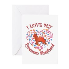 Love Pyrenean Greeting Cards (Pk of 10)