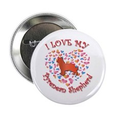 """Love Pyrenean 2.25"""" Button (10 pack)"""