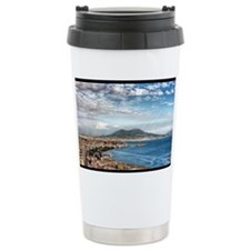 Vesuvius and Gulf Travel Mug