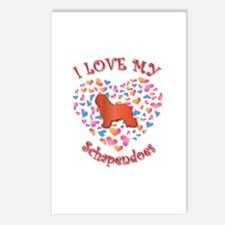 Love Schapendoes Postcards (Package of 8)
