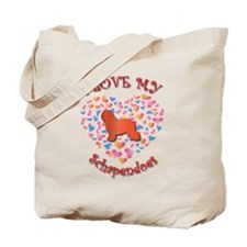Love Schapendoes Tote Bag