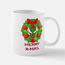 Christmas Wreath Alien Mug
