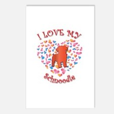 Love Schnoodle Postcards (Package of 8)