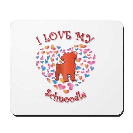 Love Schnoodle Mousepad