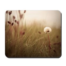 Dandelion surrounded by other plant Mousepad