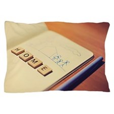 Home on book Pillow Case
