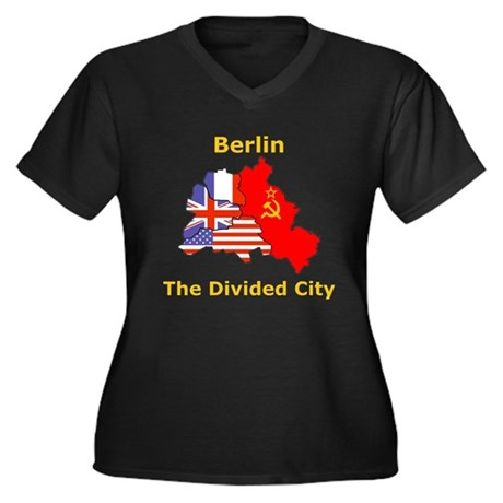 Berlin: The Divided City Women's Plus Size V-Neck