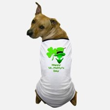 St. Patty's Day Alien Dog T-Shirt