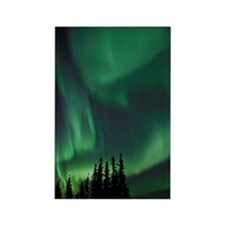 Aurora Borealis, or Northern Ligh Rectangle Magnet