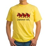 Click Here for DogHattan NYC  Yellow T-Shirt