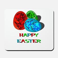 Easter Egg Aliens Mousepad