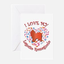 Love Lagotto Greeting Cards (Pk of 10)