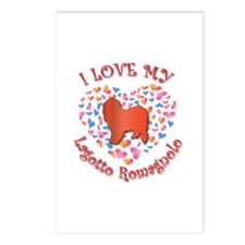 Love Lagotto Postcards (Package of 8)
