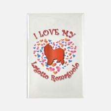Love Lagotto Rectangle Magnet (100 pack)