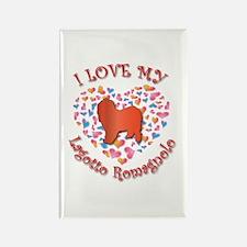 Love Lagotto Rectangle Magnet