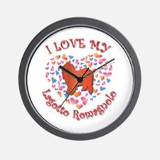 Love Lagotto Wall Clock