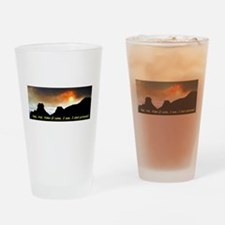 Veni Vidi Video Drinking Glass