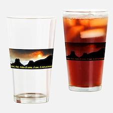 Veni Vidi Video Drinking Glass