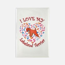 Love Lakeland Rectangle Magnet (10 pack)