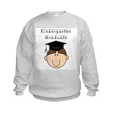 Boy Kindergarten Grad (brown) Sweatshirt