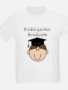 Boy Kindergarten Grad (brown) T-Shirt