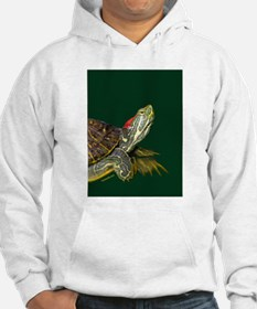 Lively Red Eared Slider Hoodie