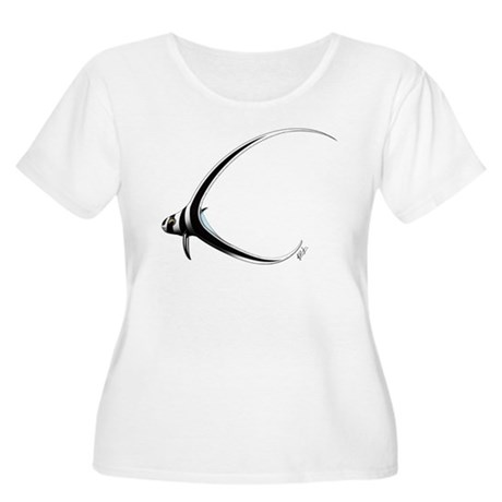 Spotted Drumfish Women's Plus Size Scoop Neck Tee