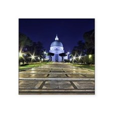 "Basilica of Saints Peter an Square Sticker 3"" x 3"""